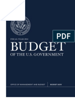 President Obama's fiscal year 2014 budget proposal