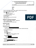 Seattle Police Report