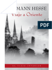 Viaje a Oriente - Hermann Hesse