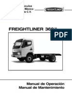 Manual de Operacion y Mantenimiento Freightliner 360