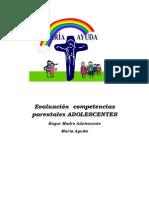 Evaluación de competencias parentales ADOLESCENTES