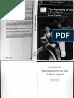 Fischer, Ernst - The Necessity of Art
