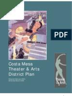 CM Theater Arts District Plan