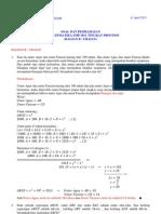 Soal Dan Pembahasan Osn Matematika 2011 Bagian b Uraian Tingkat Provinsi