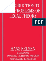Kelsen - Introduction to the Problems of Legal Theory