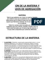 Definicion de La Materia y Estados de Agregacion