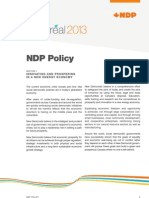 NDP Policy Book