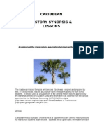 Caribbean History Synopis and Lessons