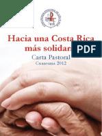 Carta Pastoral Hacia Una Costa Rica Solidaria[