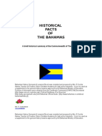 Bahamian History Synopsis and Lessons