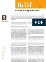 Decision-Making in the Union DeSchoutheete