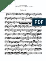 Dvorak Symphonie Nr.9 E-Moll Violine 2