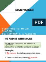 pronoun problems