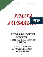 recreación POMPA MUSARUM_ con discursos completo