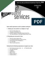 Usefulexpressions, Academic English