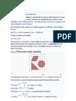 Cálculo de Área