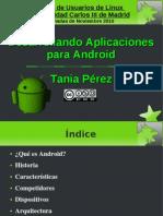 Desarrollando Aplicaciones Para Android