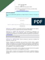 LEY 594 de 2000 Dicta Ley General de Archivos - Copia