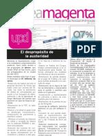 boletín número  6 UPyD Granada  Año 2013