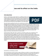 Ukessays.com-Rise in Oil Prices and Its Effect on the India Economy (1)