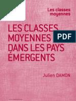 Note Julien Damon Les classes moyennes dans les pays émergents