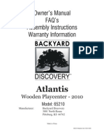 Atlantis Playcenter Assembly Manual