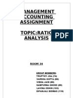 Ratio Analysis Hardcopy.