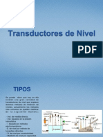 Transductores de Nivel
