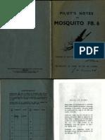 De Havilland Mosquito Pilot's Notes
