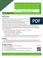 13 GSFYB Scholarship Flyer