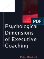 Psychological Dimensions of Executive Coaching - Peter Blucker(2006)BBSt