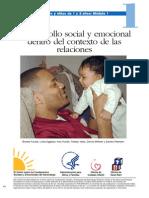 Desarrollo Emocional y Emociones Desde El Contexto de Las Relaciones Con Otros