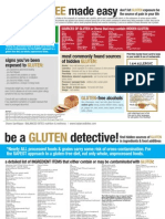 Gluten Infographic presented by Balanced Bites