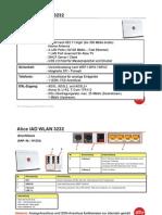 Alice IAD 3232 WLAN/DSL router manual