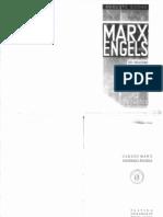 Auguste Cornu, Marx y Engels