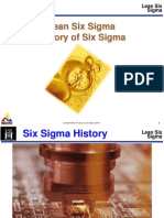 History of Six Sigma[1]