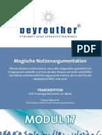 KVH022 Nutzenargumentation