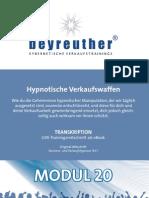 KVH024 Verkaufshypnose