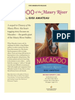 Macadoo of the Maury River by Gigi Amateau - Author's Note