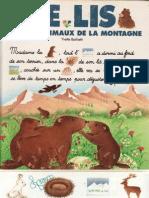 Je Lis Avec Les Animaux Montagne