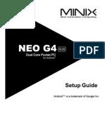 MINIX NEO G4 Quick Setup Guide