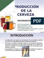 PRODUCCIÓN DE LA CERVEZA.