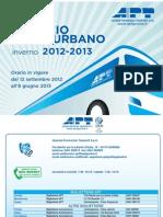 APT Orario Extraurbano Inverno 2012 2013 2