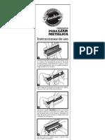 Instrucciones Metal