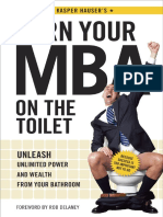 Earn Your MBA on the Toilet by Kasper Hauser - Excerpt