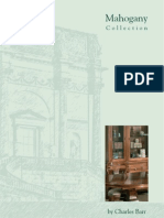 Charles Barr Mahogany  Furniture Collection Brochure