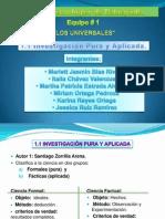 Presentacion Tema 1.1