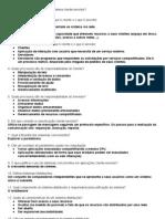 Questionário Sistema para internet (GABARITO)