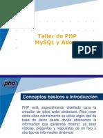 PHP Mysql Adodb
