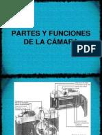 PARTES Y FUNCIONES DE LA CÁMARA